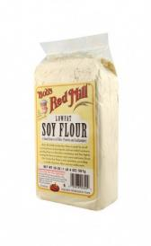 low-fat soy flour
