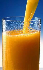 prune and orange juice