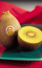 raw gold kiwifruit