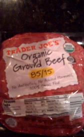raw ground grass-fed beef
